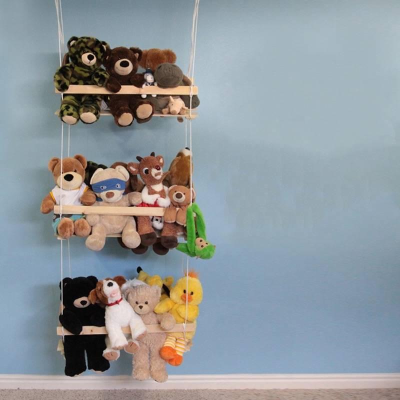 Как организовать хранение игрушек в детской комнате: 25 идей