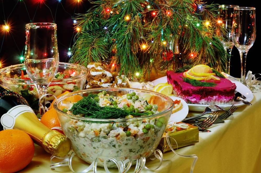 Лучшие праздничные блюда на новый год