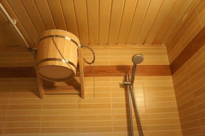 Душ в бане своими руками: пошаговый алгоритм, как сделать кабину