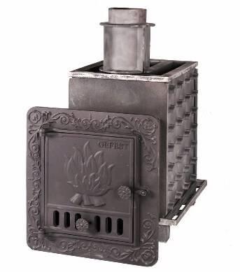Закрытая каменка для бани: чугунные, металлические и кирпичные печи для русской бани закрытого типа, выбор лучшей