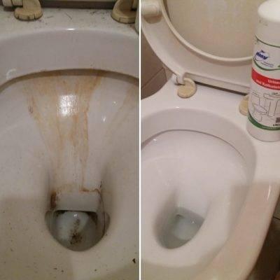 Чем отмыть ржавчину в унитазе: очистить подручными средствами