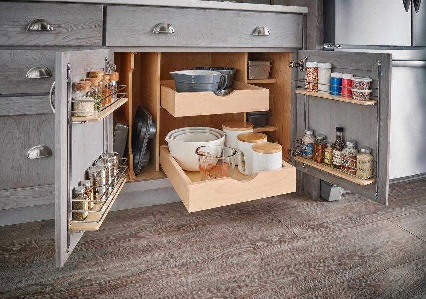 Как сэкономить дополнительное пространство: решения для маленьких кухонь