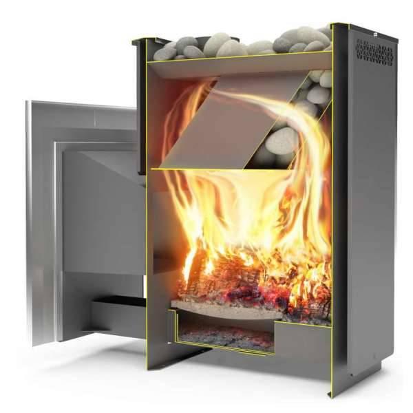 Банная печь сибирь: устройство для отопления бани под навесной бак или со встроенным водяным контуром