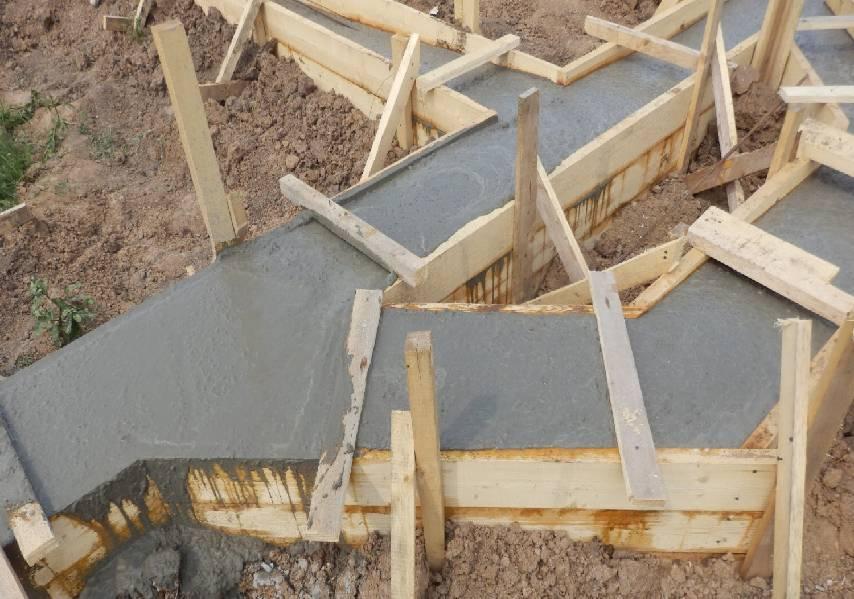 Опалубка для фундамента дома своими руками