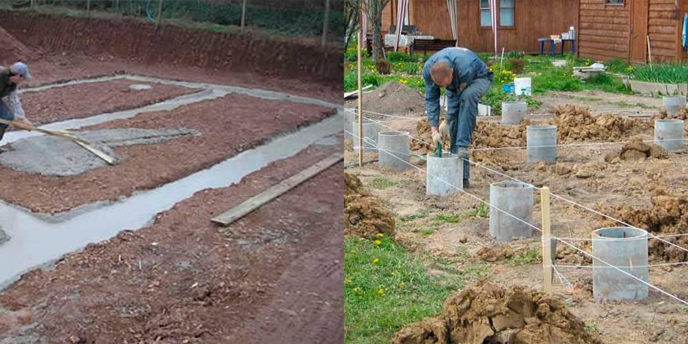 Почва для строительства дома: фото, видео, какой фундамент выбрать