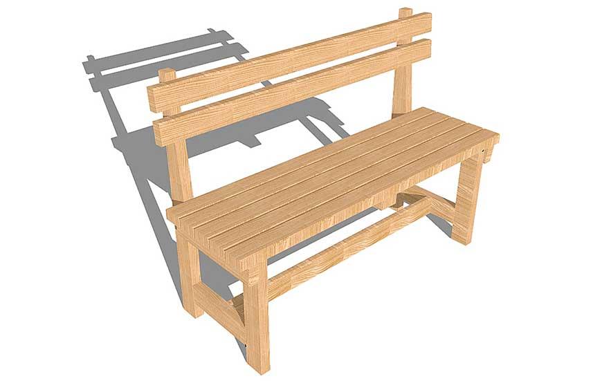 Разновидности скамеек из дерева, их особенности, формы и размеры
