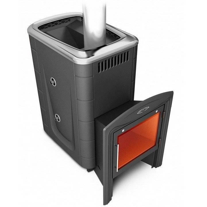 Банная печь с теплообменником: разбираемся подробно