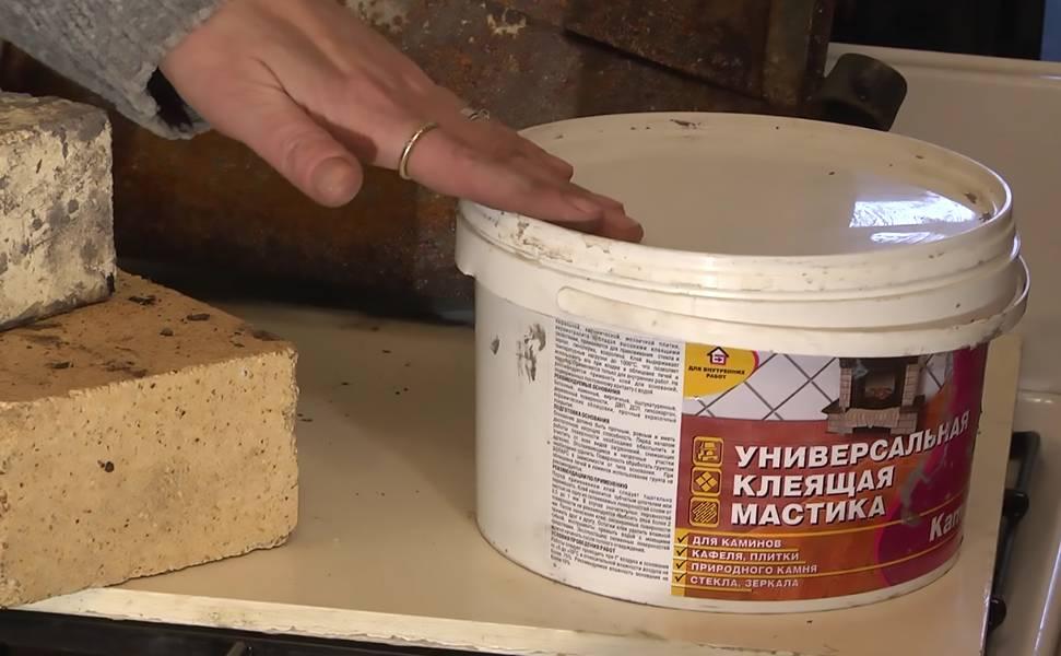 Жаростойкий и термостойкий герметик для каминов и печей