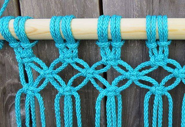 Как сделать гамак своими руками: варианты выполнения, схема плетения макраме пошагово, детская конструкция