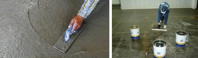 Железнение бетона своими руками - пошаговая инструкция с видео