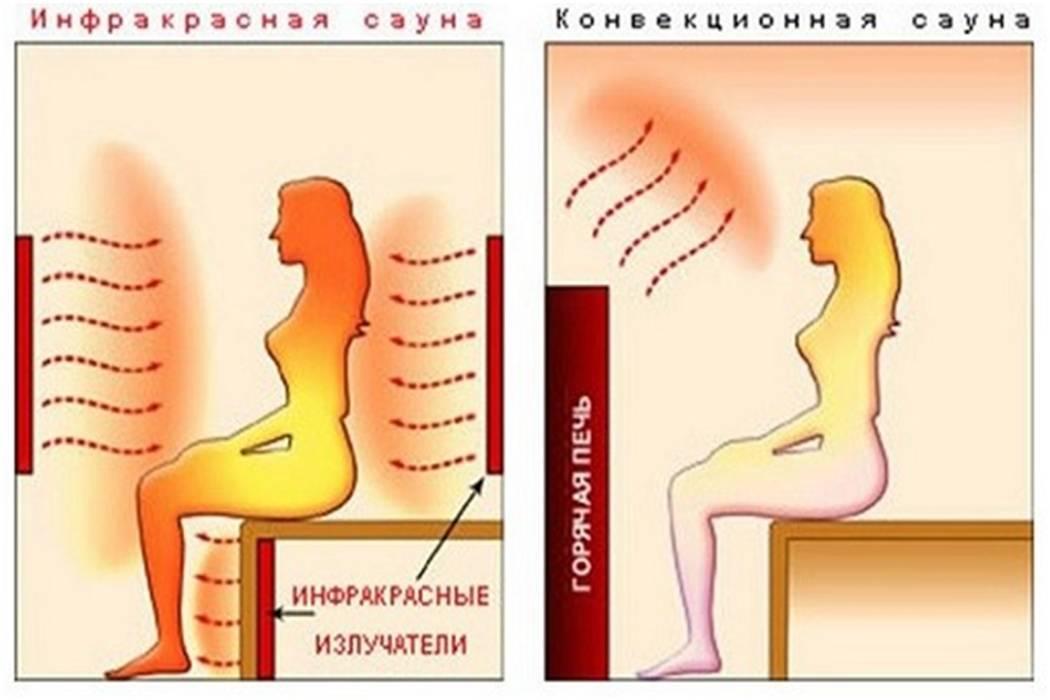 Инфракрасная сауна: что это такое, польза и вред, противопоказания и как часто можно посещать