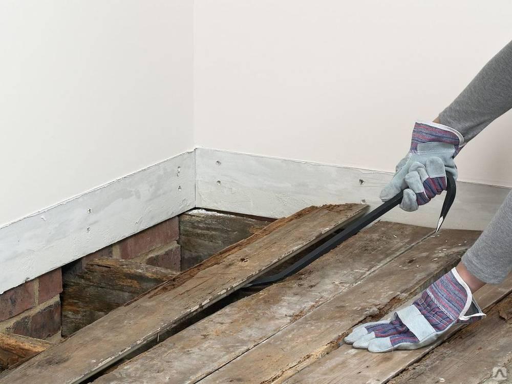 Как снять старый паркет своими руками: демонтаж пола