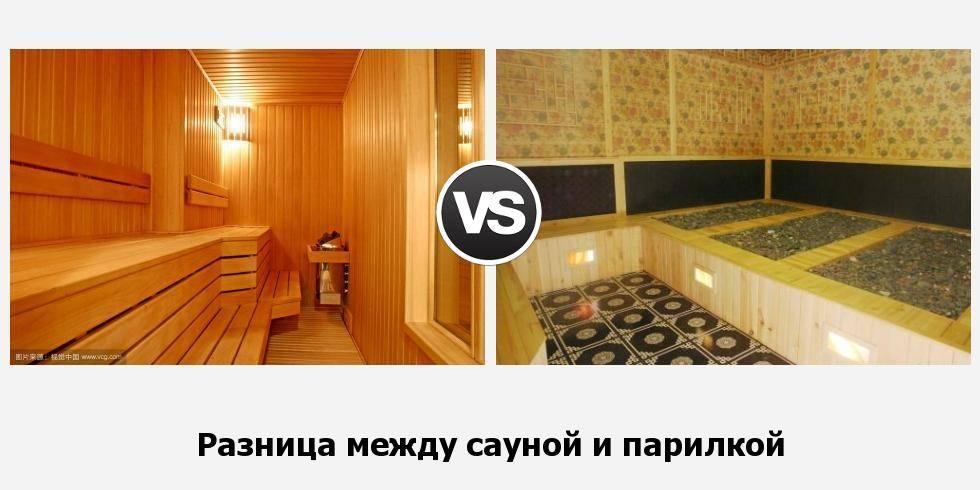 Чем отличается баня от сауны?