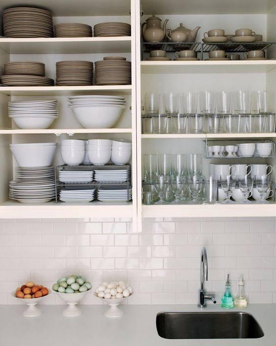 Правильное хранение посуды на маленькой кухне - квартира, дом, дача - медиаплатформа миртесен