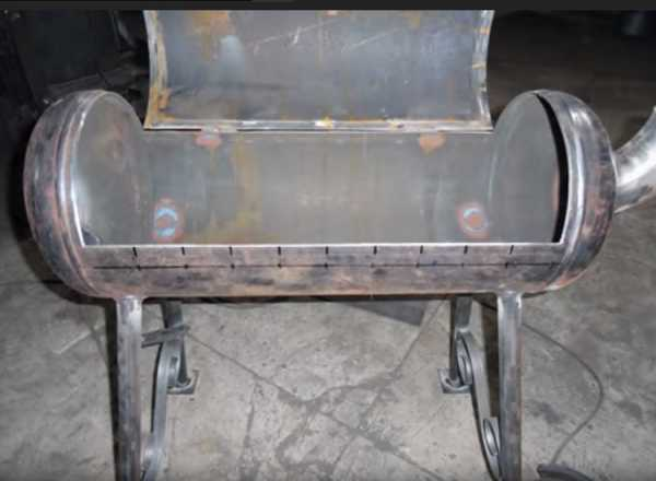 Как своими руками сделать мангал из газового баллона