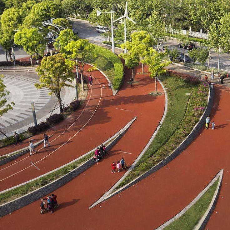 Ландшафтный дизайн зоны парка отдыха: лучшие решения
