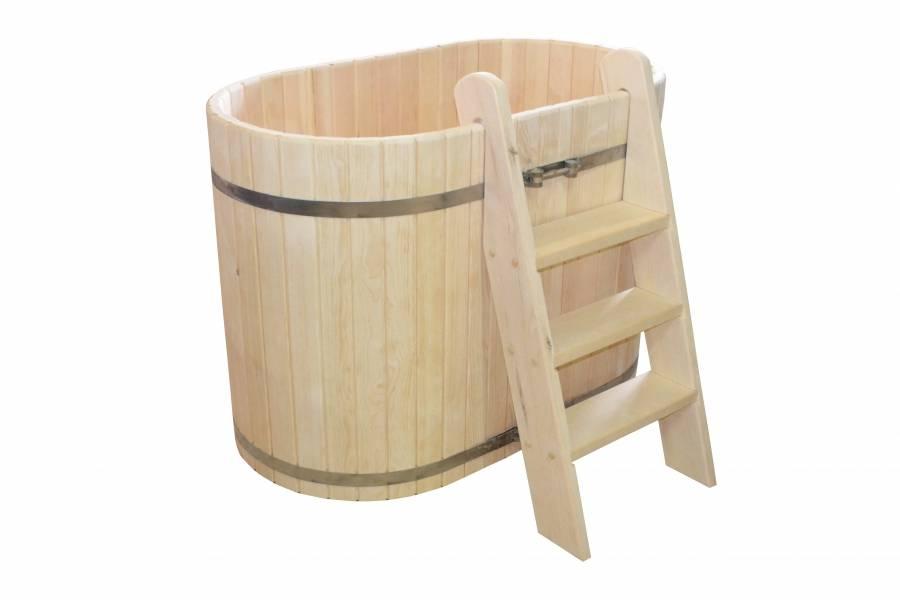 Выбираем купели для бани: пластик, дерево, кирпич или мастерим своими руками?