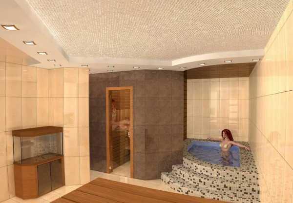 Строительство бани в подвале собственного дома