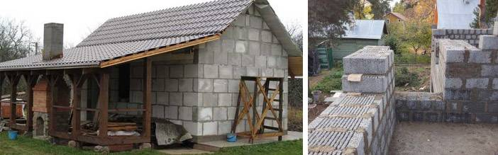 Какие блоки для бани лучше использовать при строительстве – обзор материалов