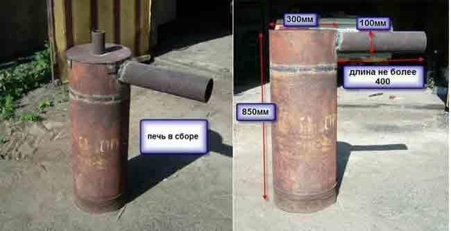 Печь-ракета: возможности применения и сборка своими руками