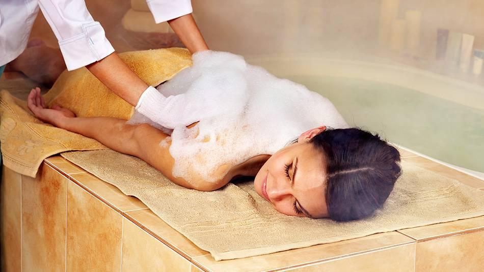 Как приготовить пену для пенного массажа?