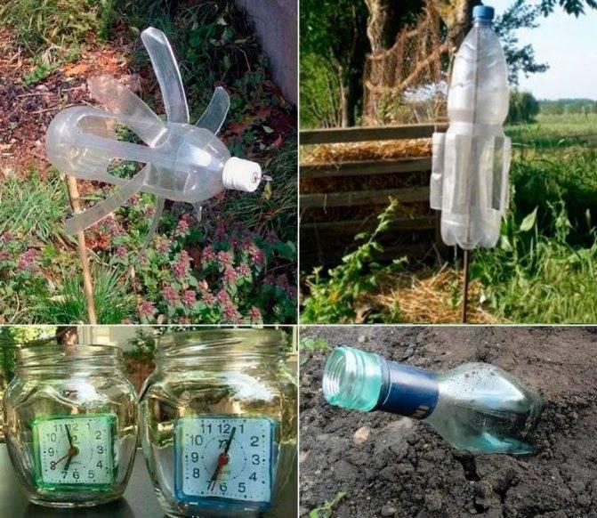Простая вертушка из пластиковой бутылки