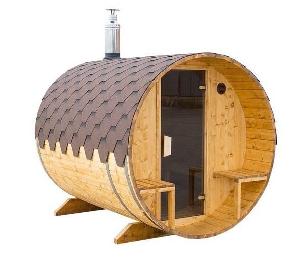 Что такое баня-бочка и чем она лучше обычной бани?.  новости уфы и башкирии - 19 апреля