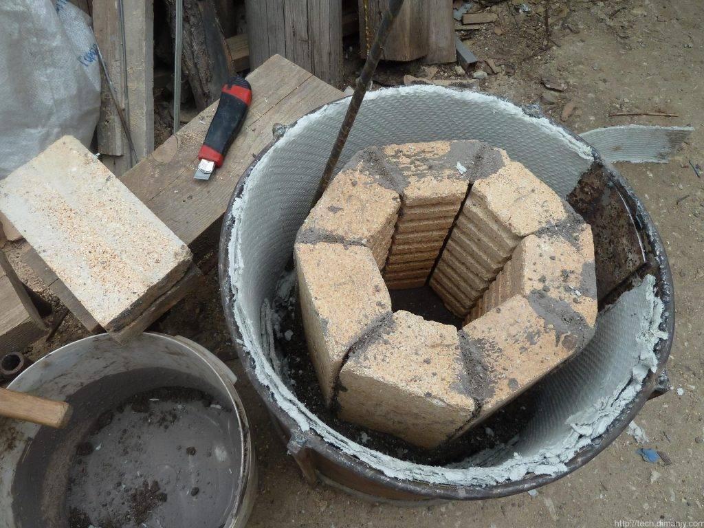 Плавильная своими руками. самодельная печь для плавки и закалки металла в домашних условиях. печь из металлического бака