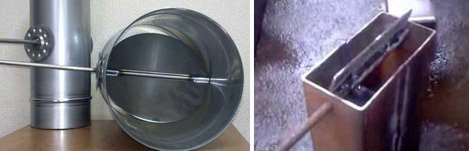 Зачем нужен шибер для дымохода и как его сделать самостоятельно? шибер для дымохода своими руками - чертежи и порядок изготовления
