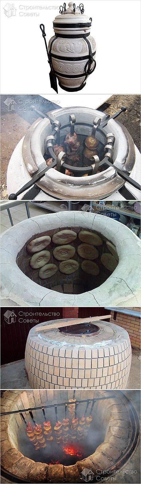 Изготовление переносного тандыра на колесах своими руками