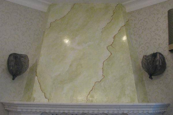 Кирпичная стена своими руками из шпаклевки  преимущества, подготовка и отделка