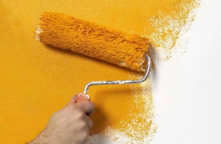 Покраска стен в квартире: выбор краски, дизайн, нанесение