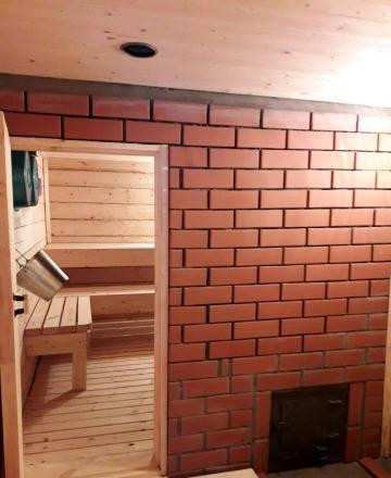 Внутренняя отделка бани из сруба: инструкция
