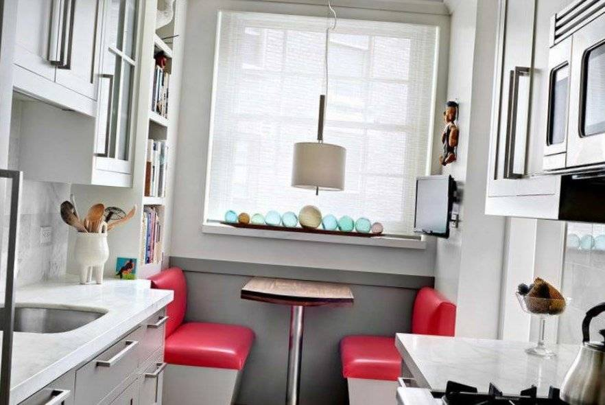 Стол-подоконник на кухне: как сделать столешницу вместо окна