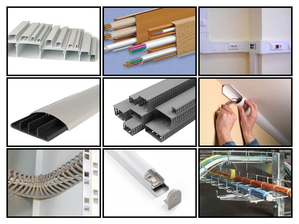 Как крепить кабель канал к стене без сверления