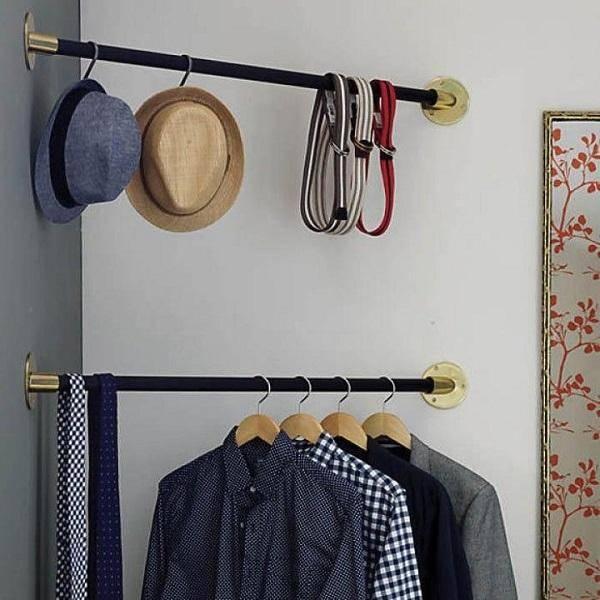 Квартира без шкафов: 9 идей для комфортной жизни