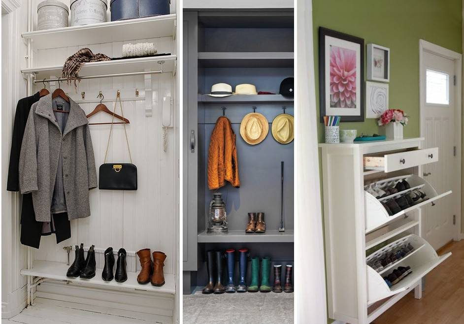 Идеи для хранения вещей в квартире - фото примеров