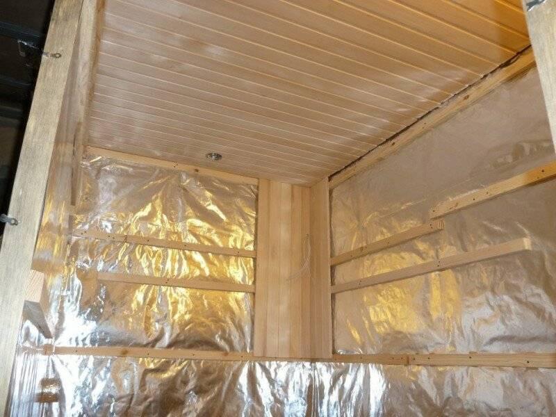 Чем утеплить стены в бане изнутри материалы