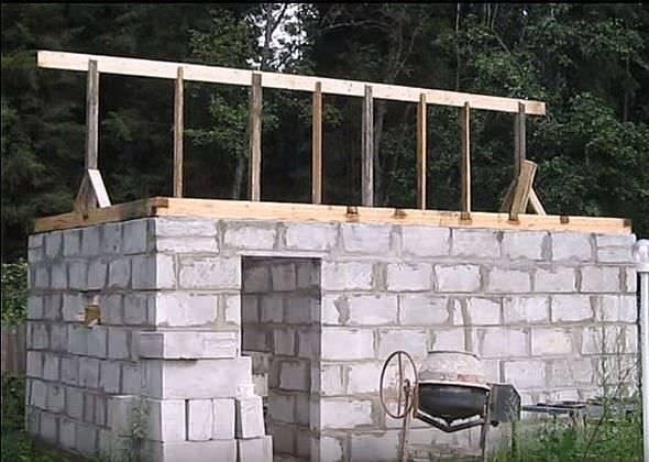 Строительство бани своими руками: как выбрать подходящие блоки и правильно их использовать