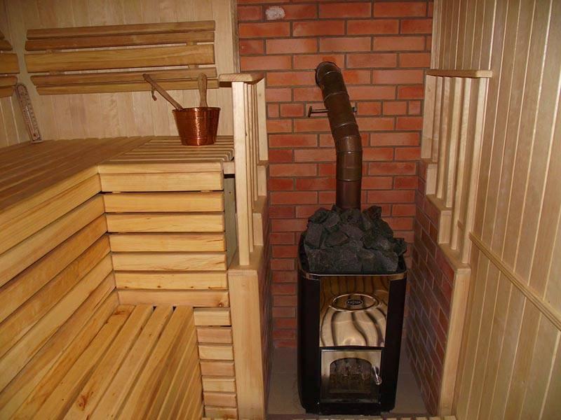 Баня из кирпича: особенности конструкций