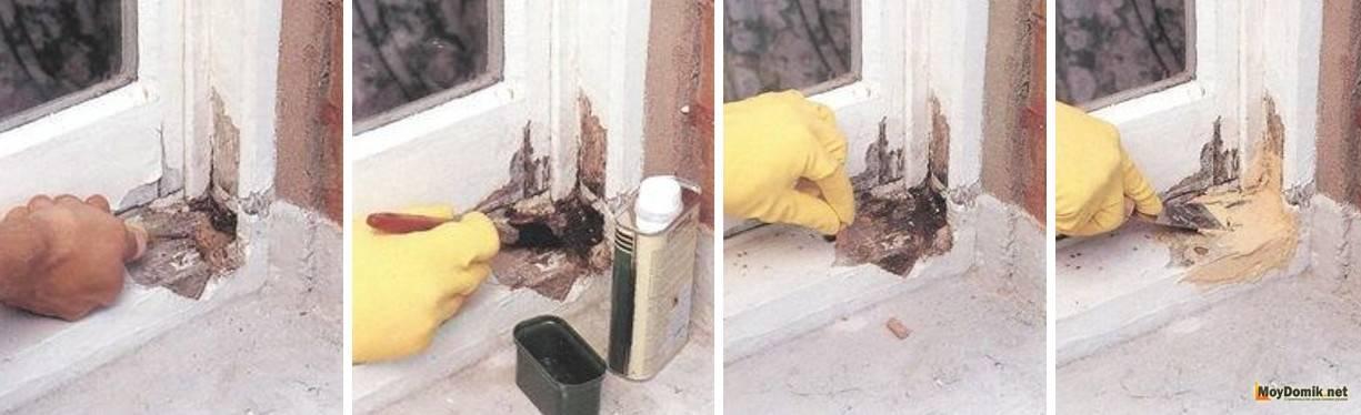 Как сделать ремонт деревянных окон своими руками, есть ли трудности?