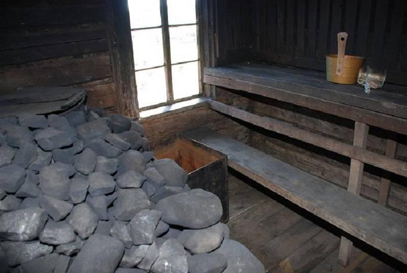 Баня по-черному — старинный русский вариант парной, устройство