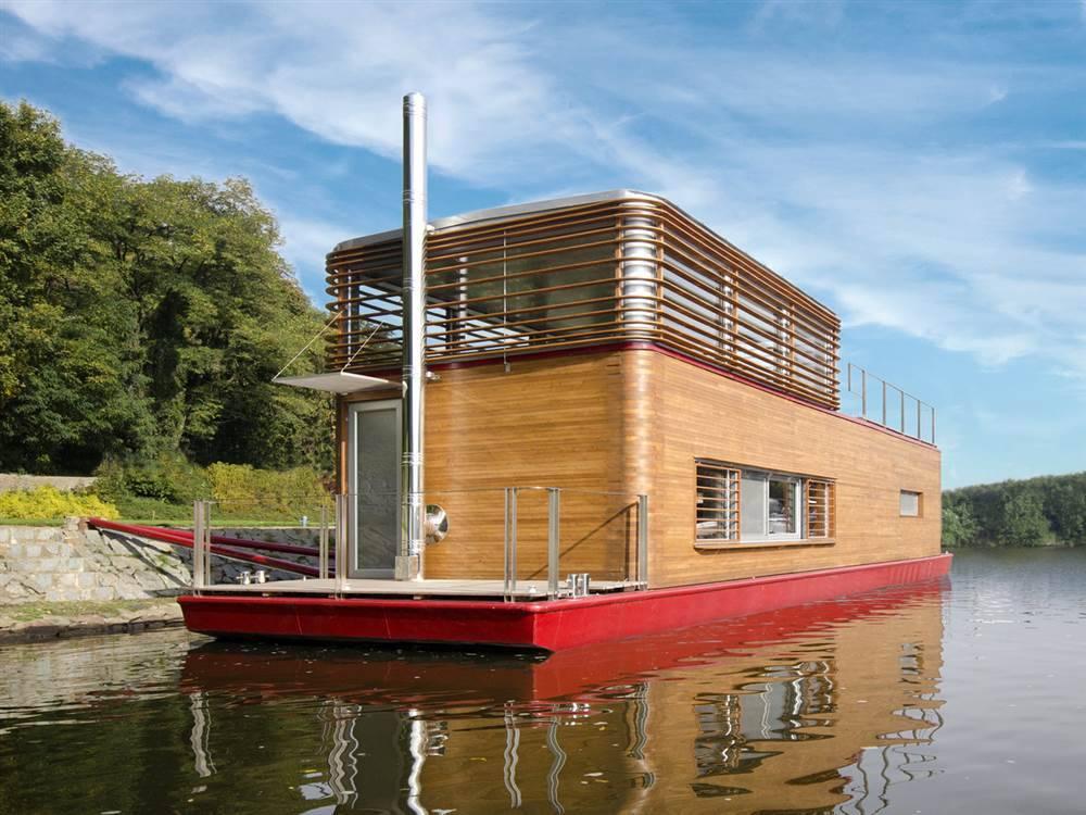 Дом на понтоне: строительство домов на воде