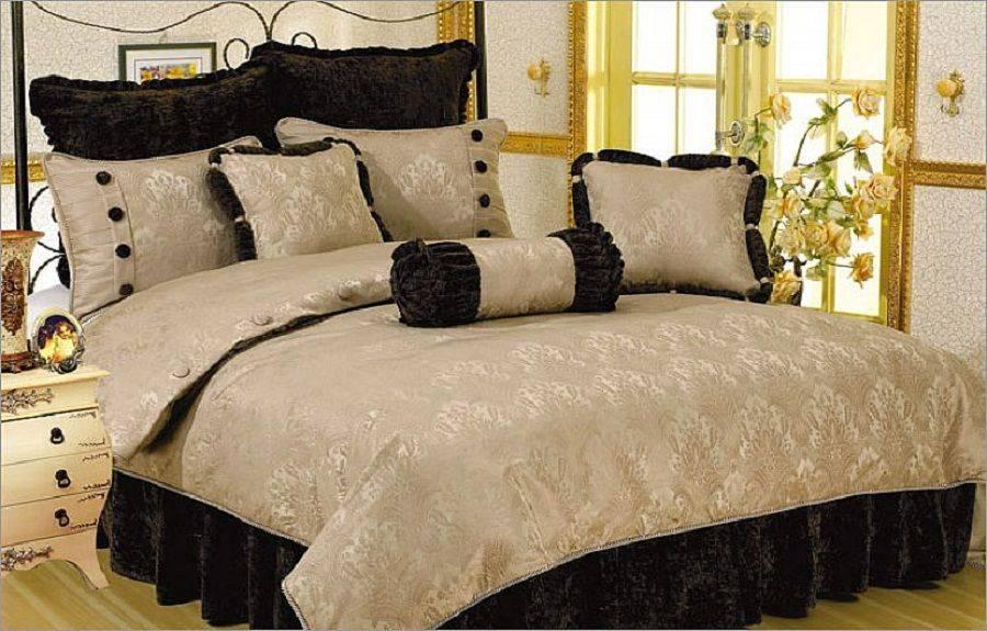 Роскошное постельное белье своими руками