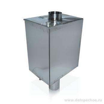 Бак на дымоход для бани: преимущества и особенности | построить баню ру