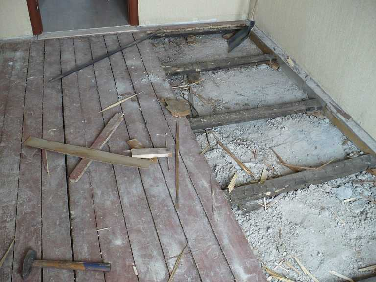 Как отремонтировать старый пол из дерева: варианты, цена