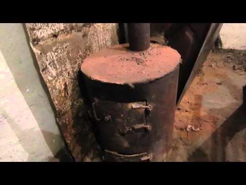 Как изготавливается печка на дровах своими руками