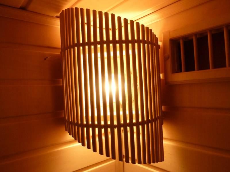 Светодиодные светильники для бани и для сауны, ленты и лампы - все, что нужно знать о светодиодах и применении их в парилке