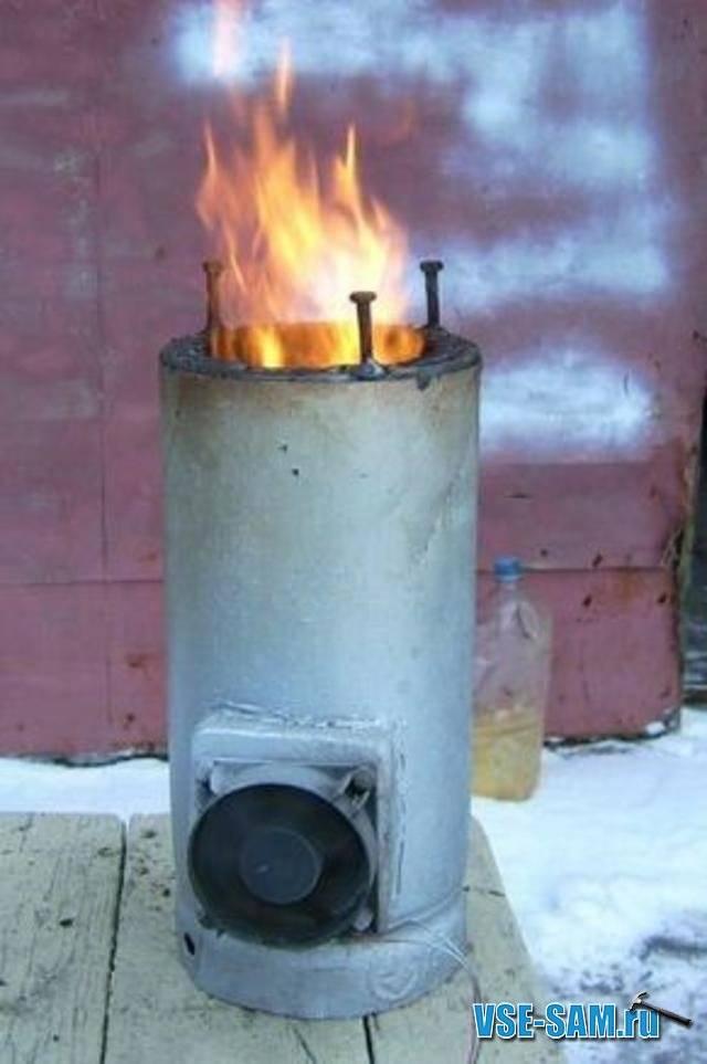 Как сделать печь-буржуйку своими руками: материалы и технология