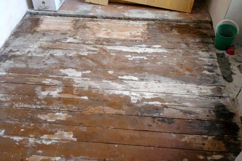 Стоит ли окончательно выбрасывать старый деревянный пол?